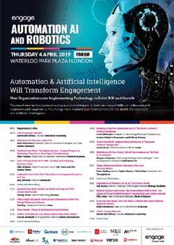 2019 Automation AI and Robotics Forum