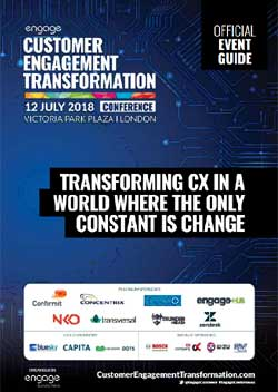2018 Customer Engagement Transformation Conference