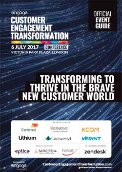 2017 Customer Engagement Transformation Conference