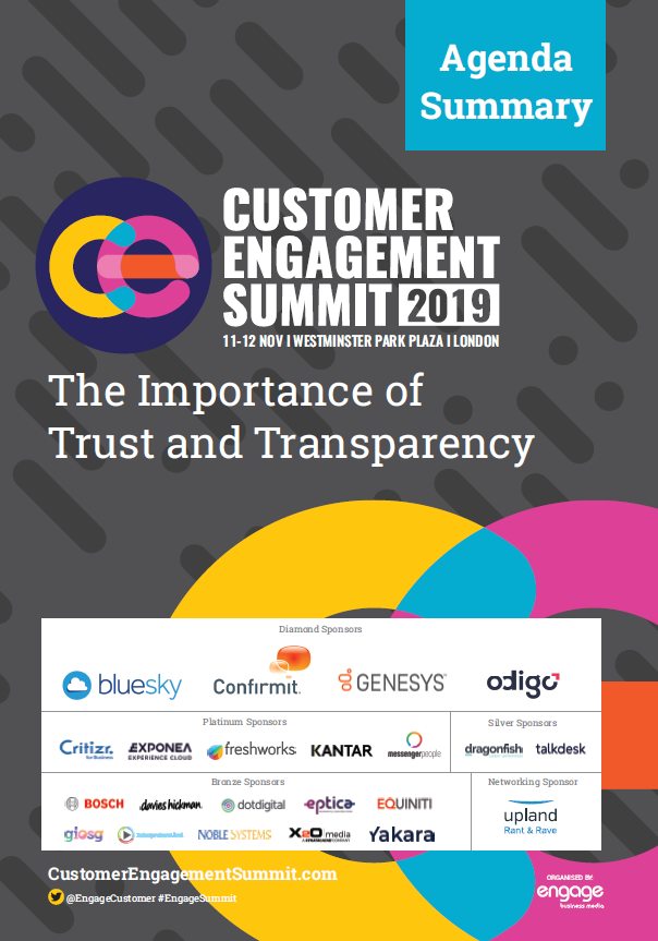 2019 Customer Engagement Summit